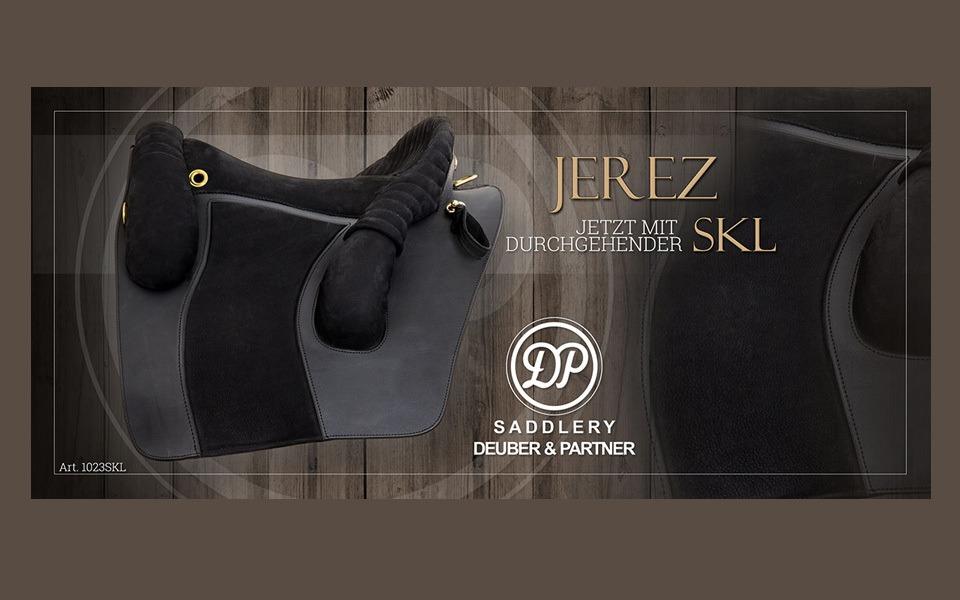 Jerez Barocksattel mit durchgehender Softknielage