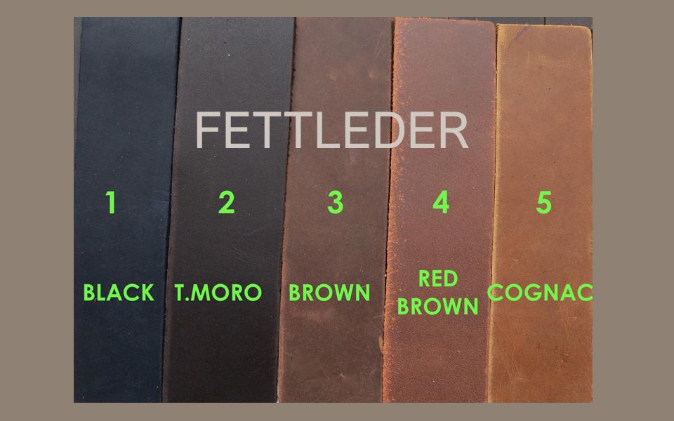 Ghost Fettleder-Muster