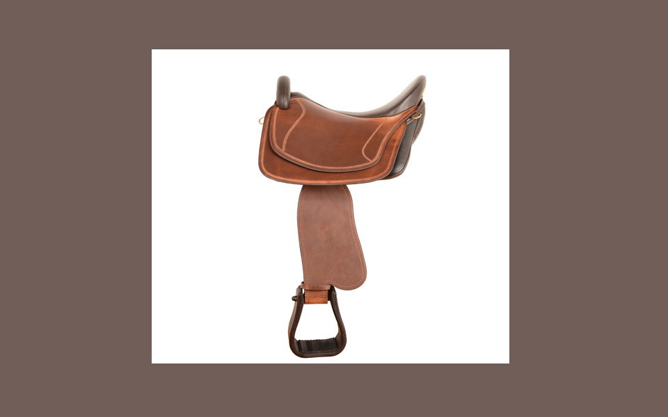 Eldorado Juchten natur inkl. Fendern und Steigbügel